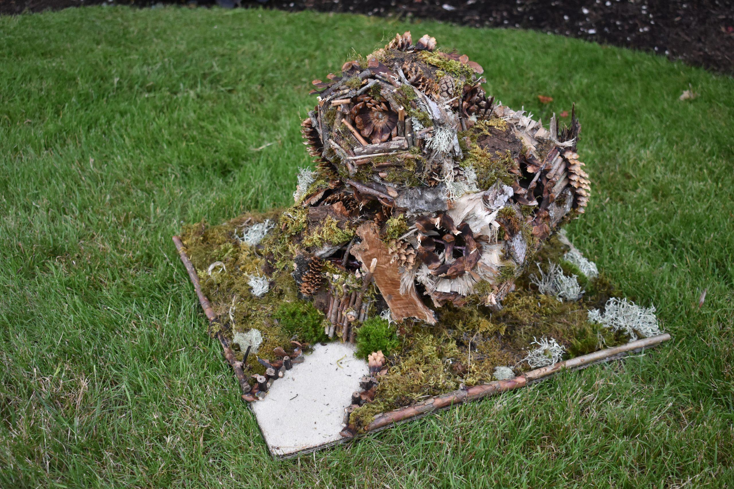 """""""Organic Fairy House"""" by Jaidyn Gabretti (age 24)"""